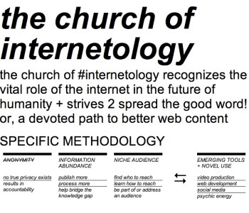 Welcome to The Church of Internetology