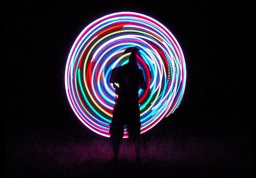 LED Hooping