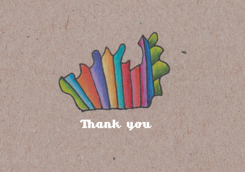 Thank you by Kelly Cree