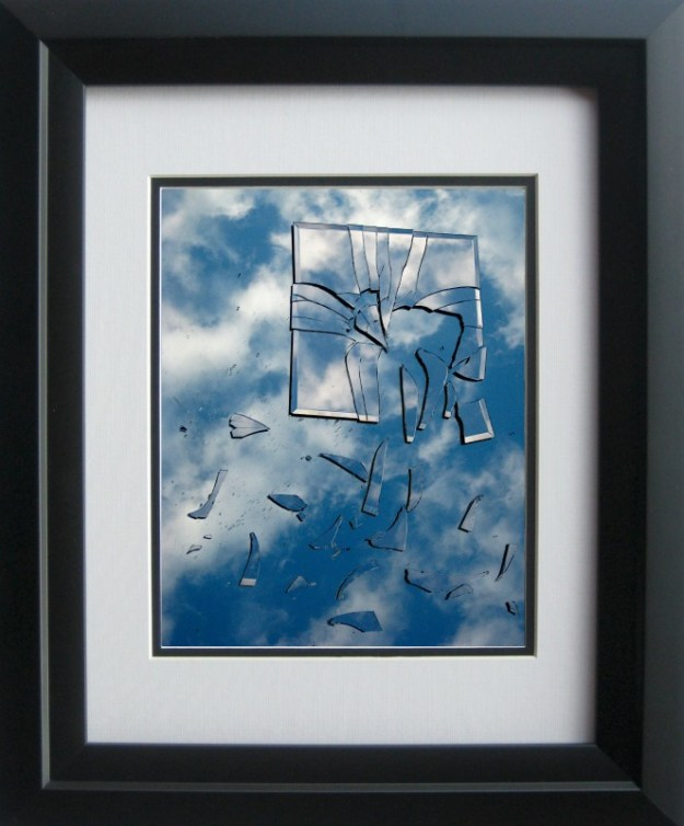 The Sky is Falling framed piece