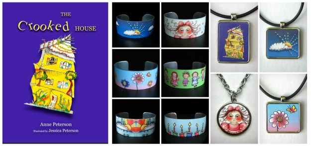 the crooked house accessories