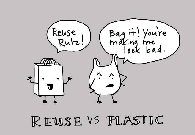 Digital Comic, Jessica Ramey, Reuse vs Plastic