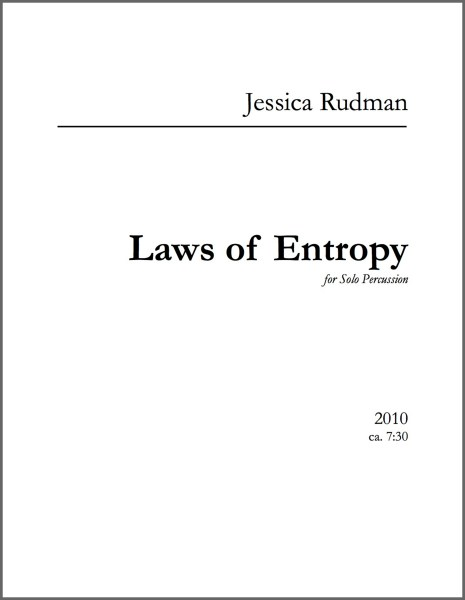 Laws of Entropy Product Image