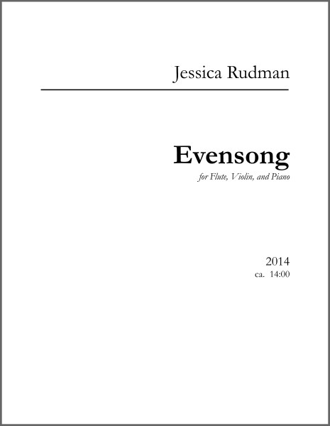 Evensong Product Image