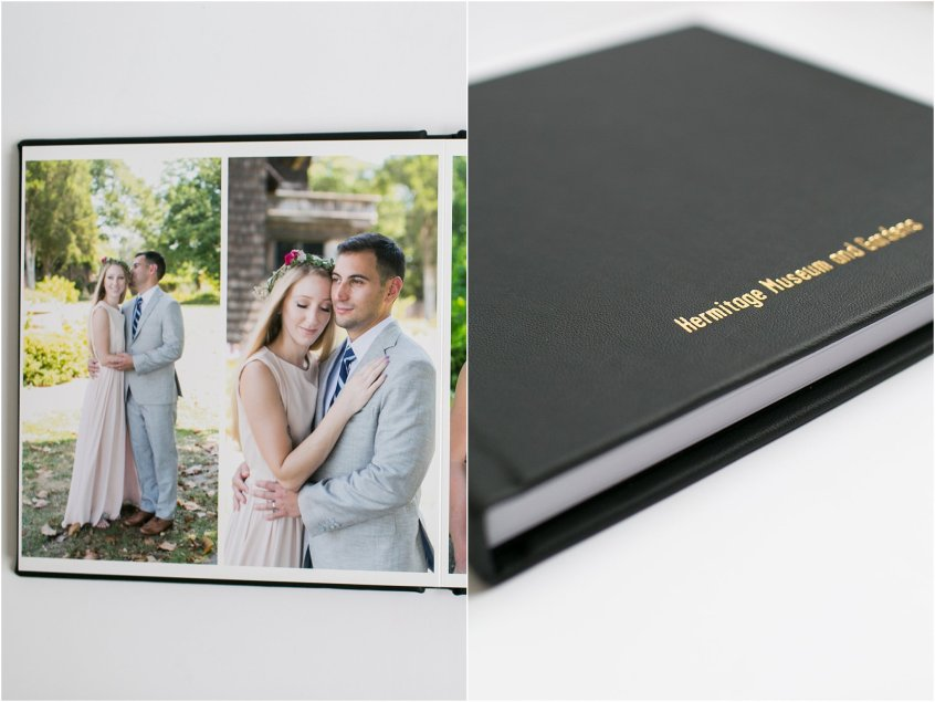 Miller's wedding album jessica ryan photography hermitage museum and gardens wedding venue