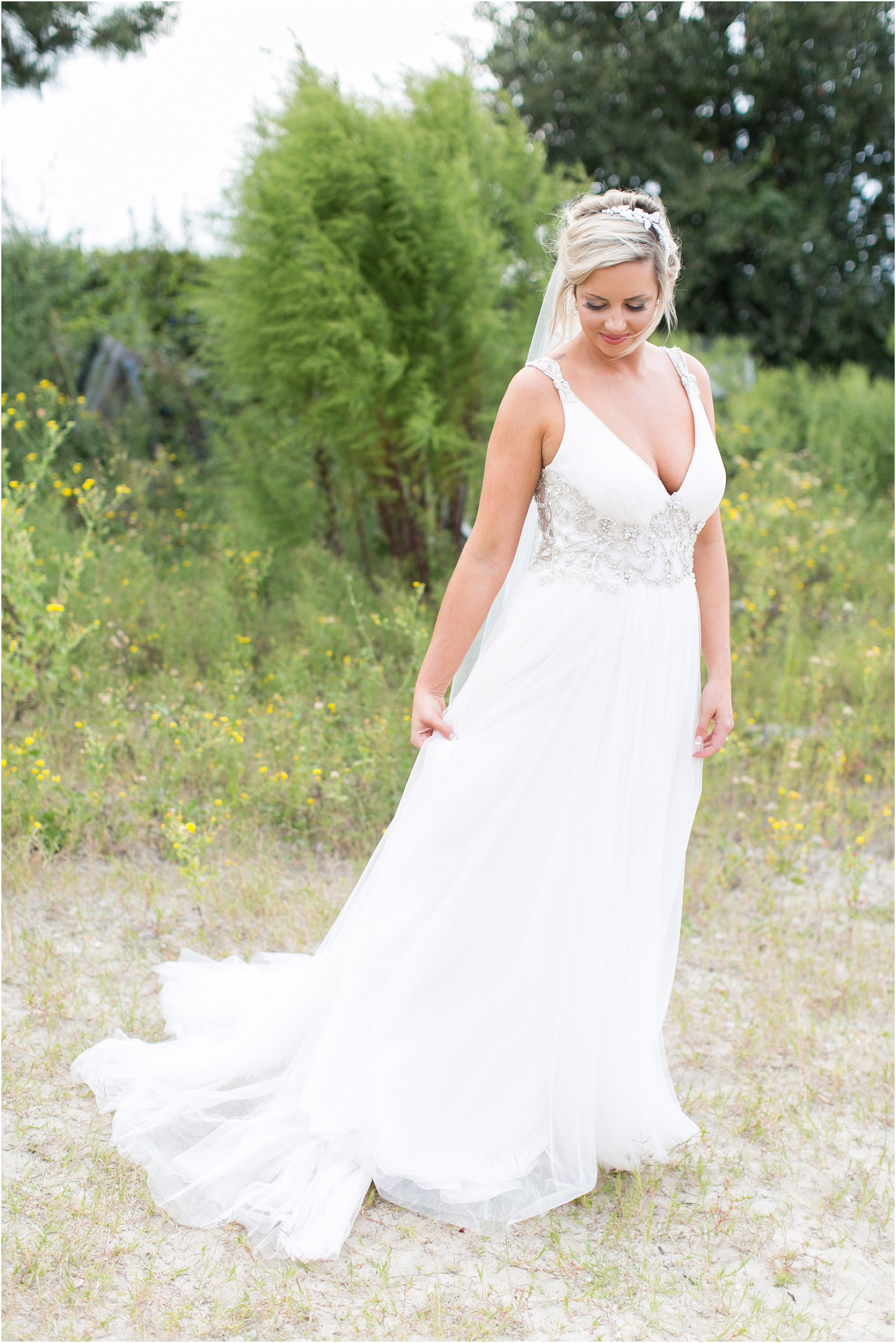 Marsala and blush wedding at marina shores yacht club for Wedding dresses in hampton roads