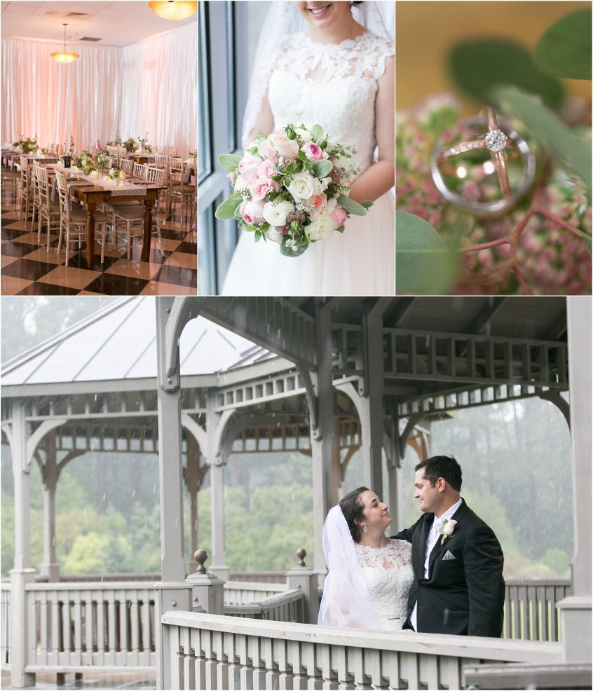 Norfolk Botanical Gardens Hurricane Matthew Wedding 2016