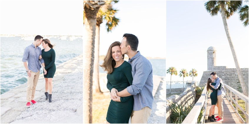 st augustine engagement portrait florida photography