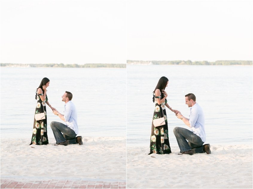 yorktown virginia proposal candid portrait