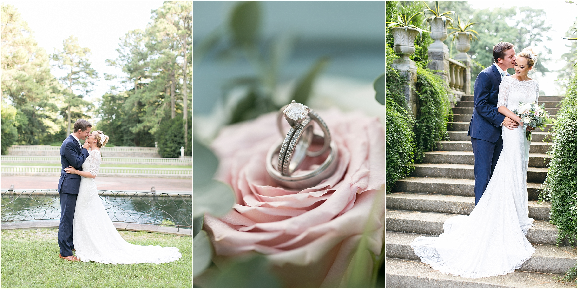 Norfolk Botanical Gardens: Virginia Wedding Photographer