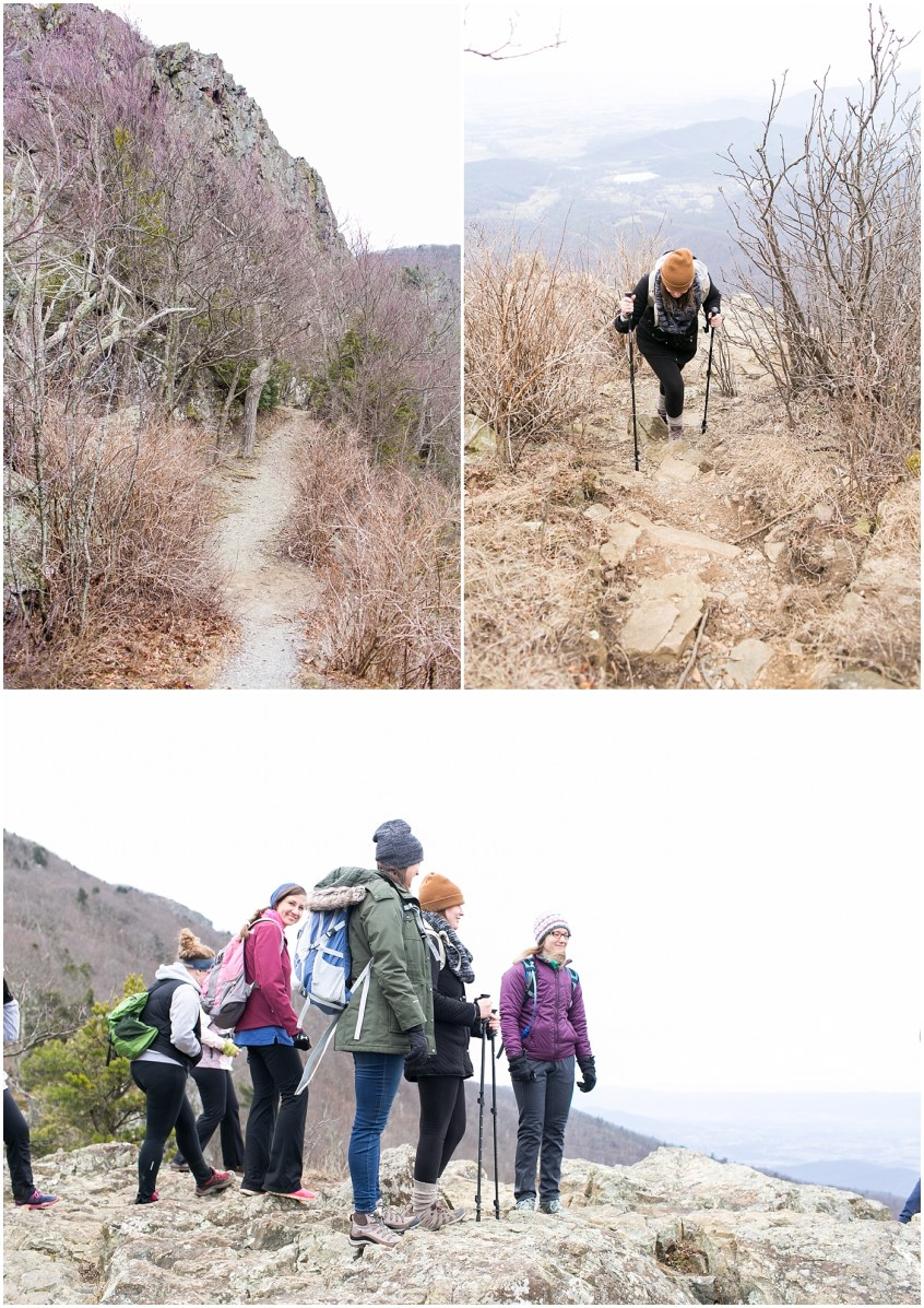 stony man mountain hike, her hike collective, virginia hiking group, women's hiking group