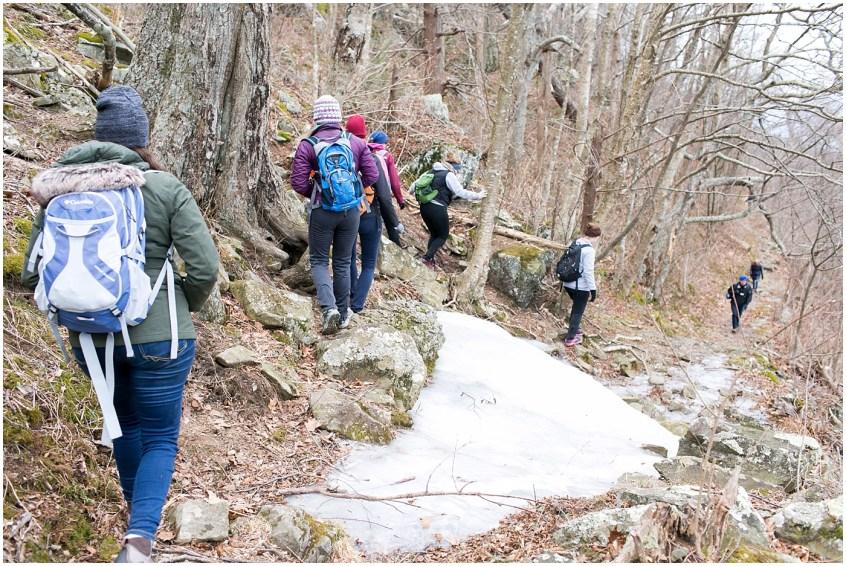 stony man mountain hike, her hike collective, virginia hiking group, women's hiking group
