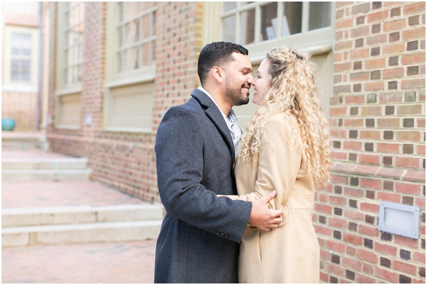 william and mary engagement portrait williamsburg virginia photography