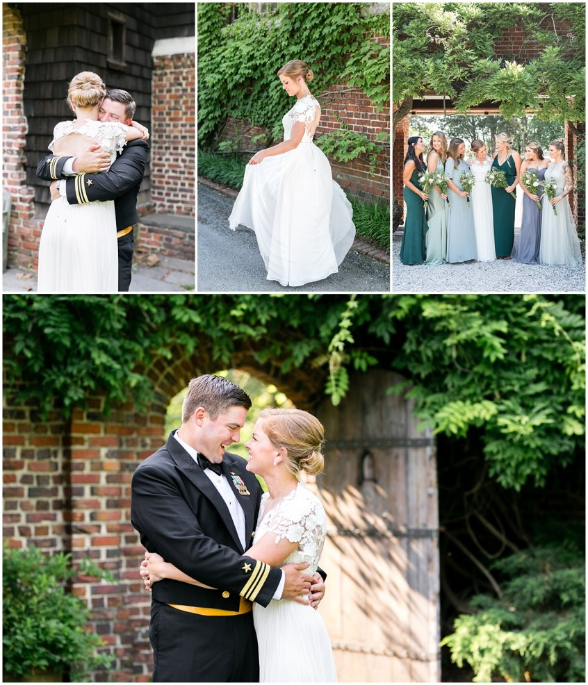 garden wedding at the hermitage museum and gardens wedding