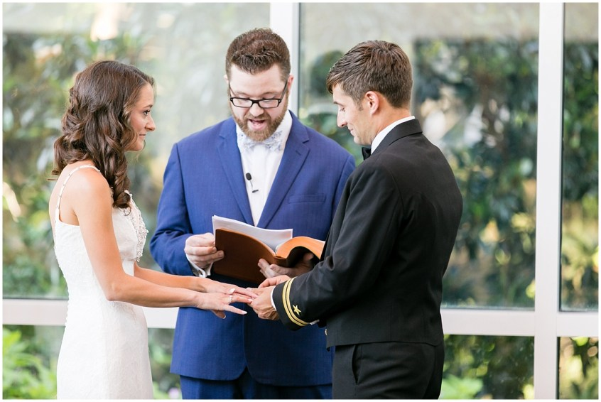 musuem of contemporary art wedding, MOCA wedding, virginia beach wedding ceremony