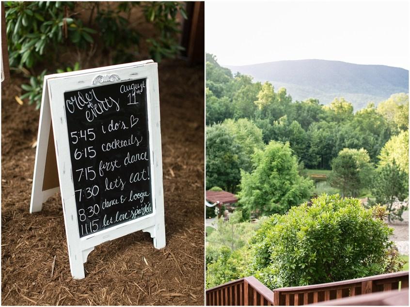 house mountain inn wedding lexington Virginia, wedding reception in the blue ridge mountains, decor