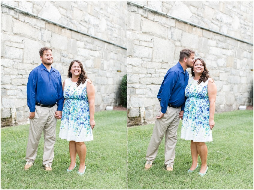 fort monroe engagements photography bride and groom hampton virginia
