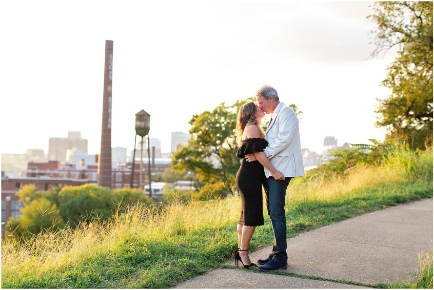Richmond engagement photography libby hill park