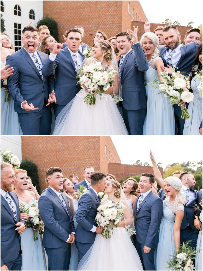 virginia beach wedding photography,here and now bridal wedding dress, jessica ryan photography, jessica ryan photographer, redeemer church, bridal party portraits