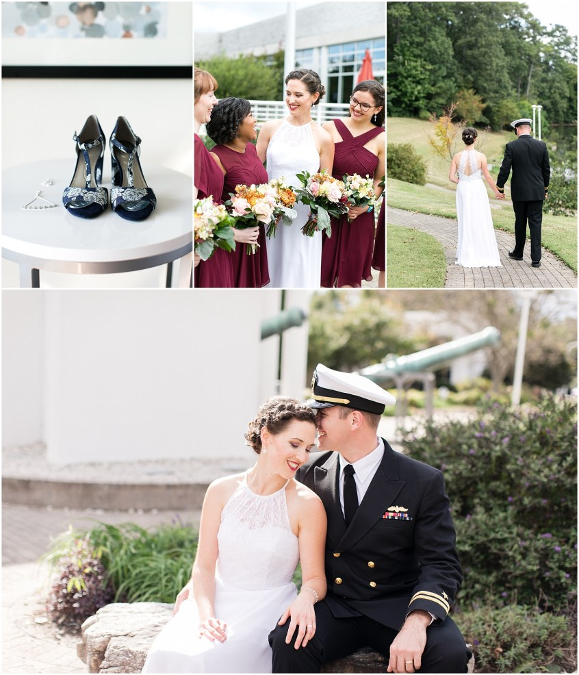 Mariner's Museum Wedding