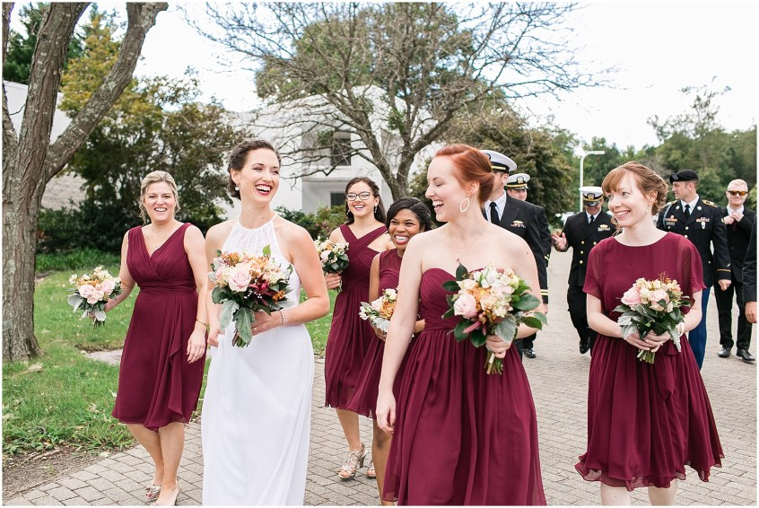 Mariner's Museum Wedding bridal party