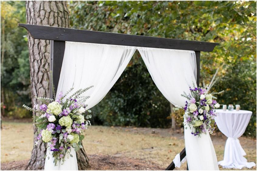 the woman's club of Portsmouth wedding in the fall, wedding ceremony, Kathy forrest design, Carolyn celeste weddings