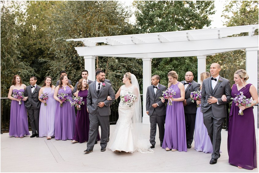bridal party, the woman's club of Portsmouth wedding in the fall, Carolyn celeste weddings, Kathy forrest design