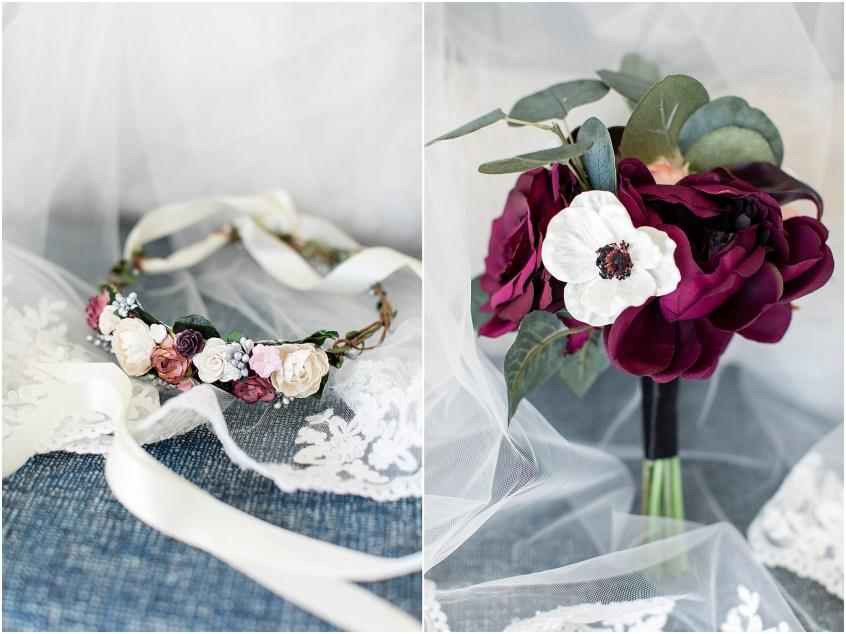 hermitage museum and gardens elopement wedding details