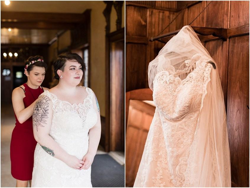 hermitage museum and gardens elopement wedding details studio i do wedding dress