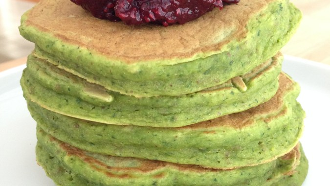 toddler snacks spinach pancakes