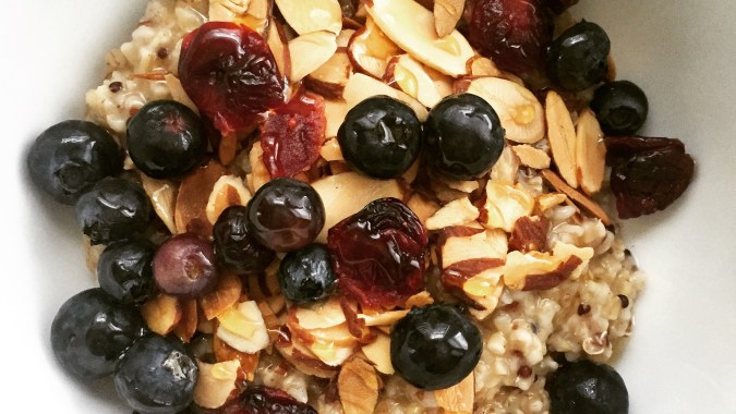 Easy Protein Oatmeal Pilates Happy Hour