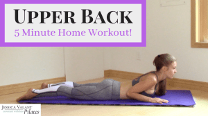 5 Minute Upper Back Workout for Home!
