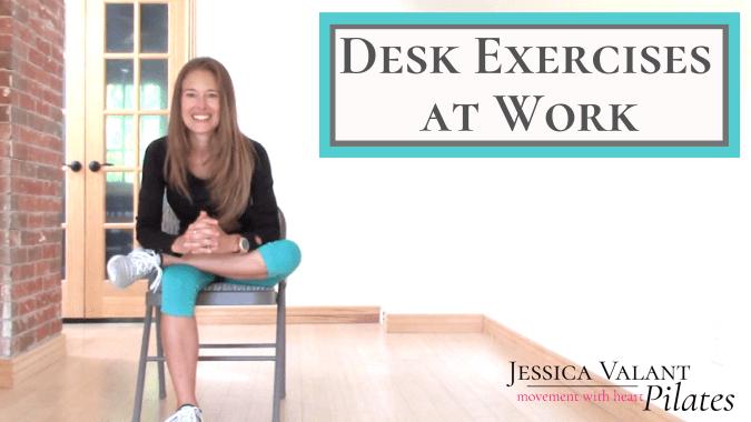 Desk Exercises at Work