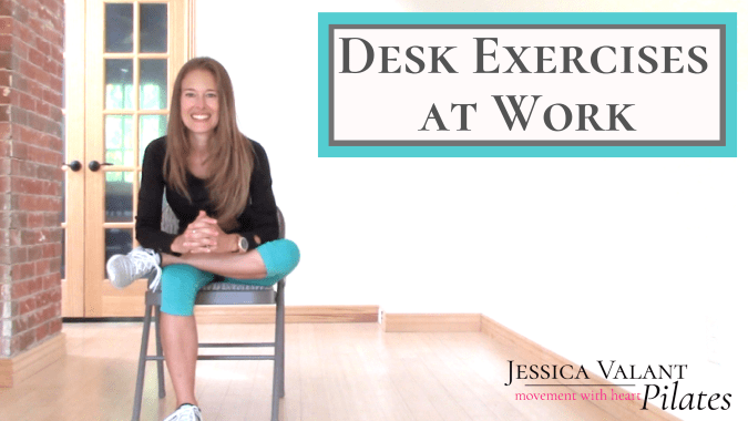 Desk Exercises at Work