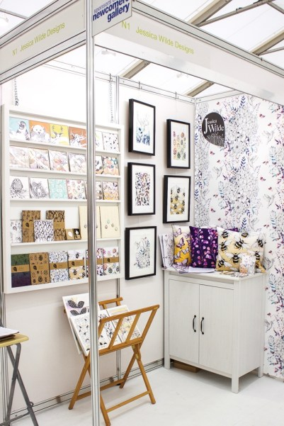 BCTF 2016 Newcomer Jessica Wilde Designs, featuring botanical nature inspired art and gifts.
