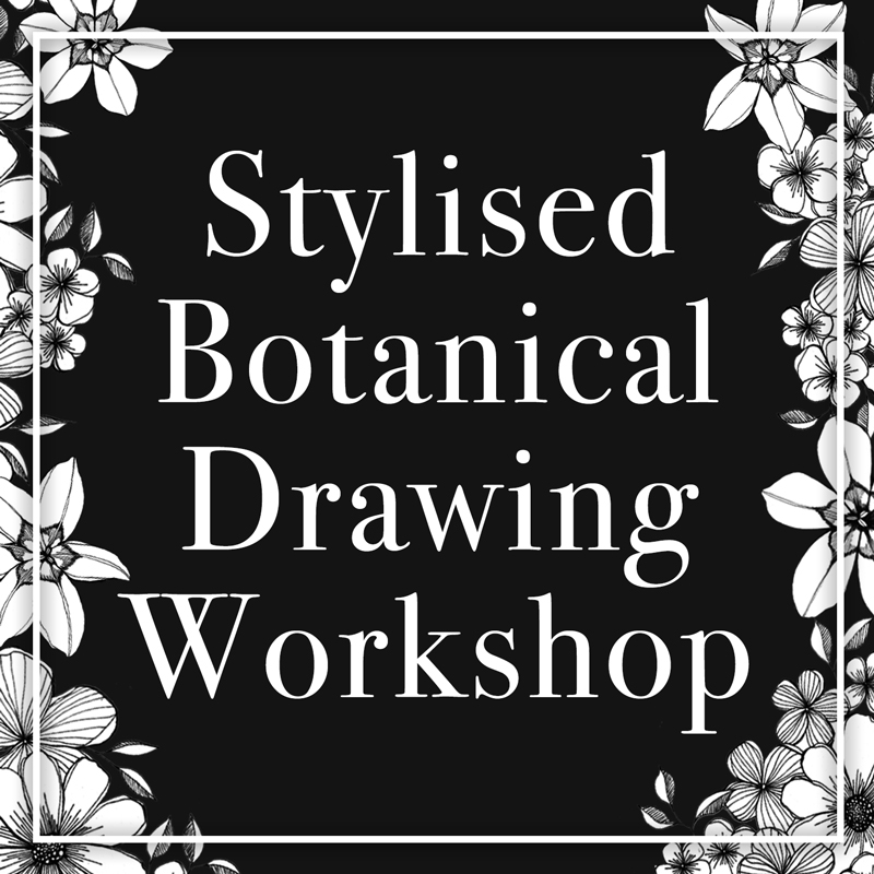 Stylised Botanical Drawing Workshop