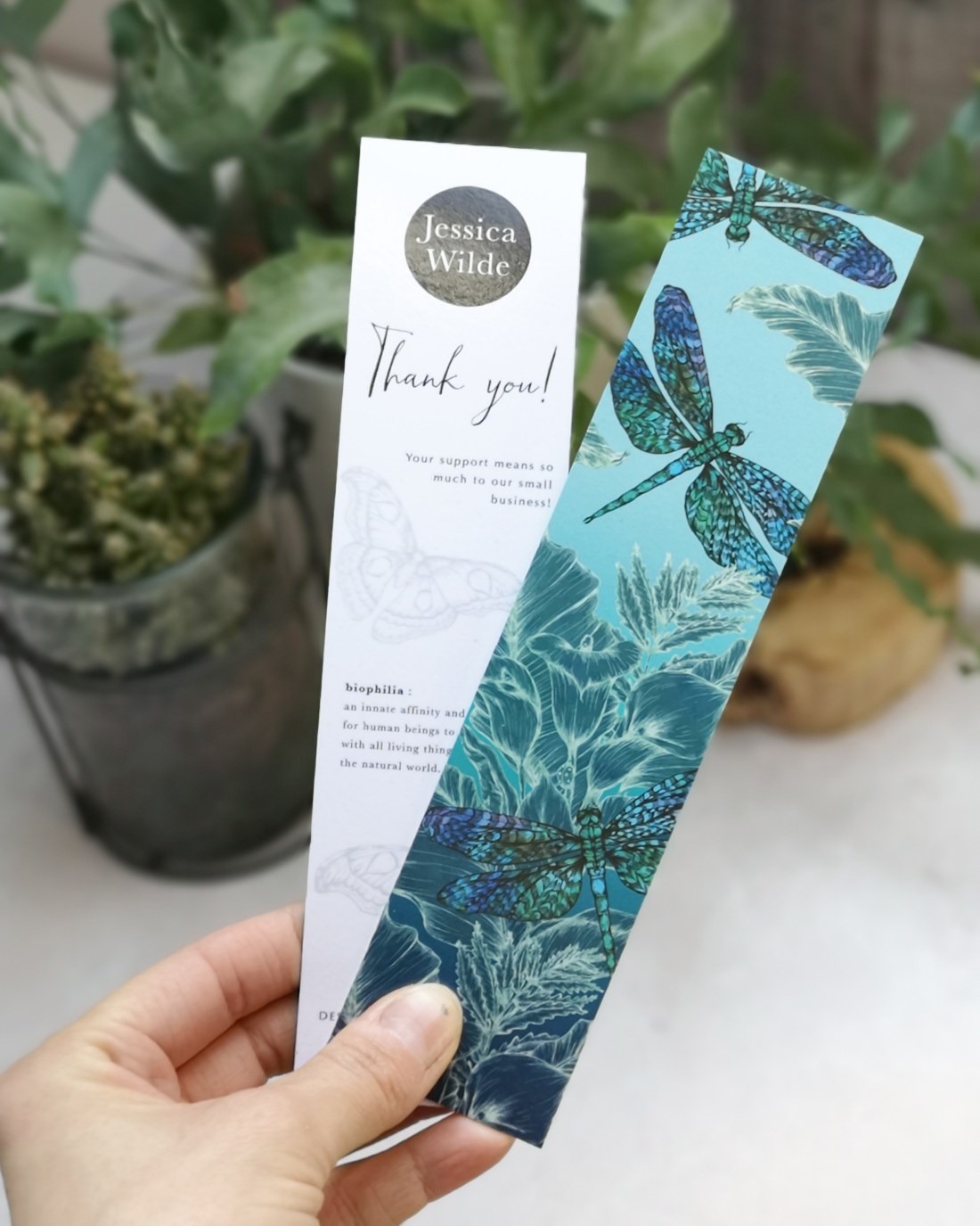 Recycled Bookmark by Jessica Wilde