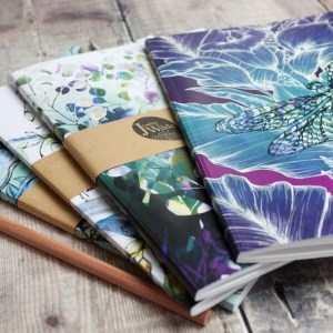 Biophilia Notebooks by Jessica Wilde