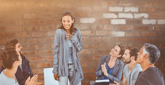 woman overcoming relatoinship abuse