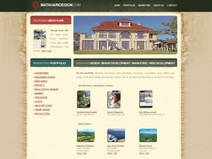Mathari Design Portfolio Page - Web Design