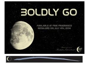 Moon Dust Announcement Card & Tester