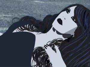 Vector of Stephanie Alia's photo.
