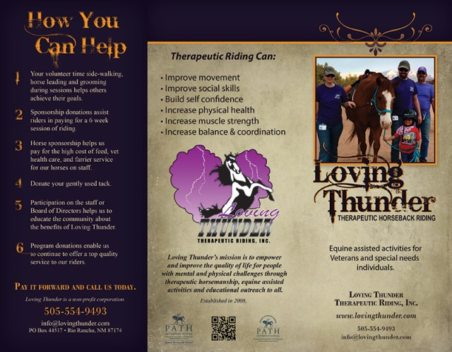 Loving Thunder Brochure