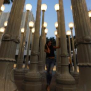 Jessy Ariaz - LACMA Lights Blurry