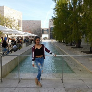 Jessy Ariaz - The Getty Fountain