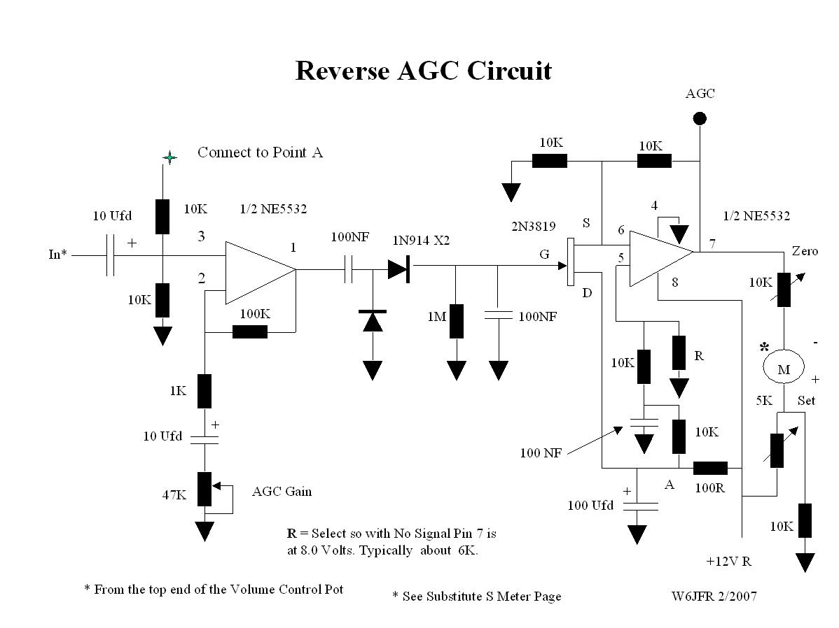 S Meter Circuit Diagram