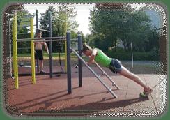 Fitness-Parcour