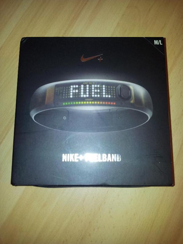 Opakowanie Nike Fuel Band