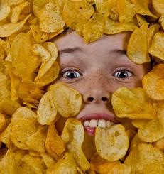chipsy są tuczące