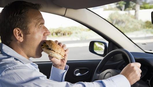 niezdrowe odżywianie hamburger w biegu postanowienia nowy rok jestesmyfajni